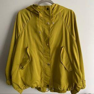 Zara Basic Hooded rain/windbreaker jacket